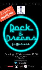 Cartel Rock&Dreams-CaixaForum